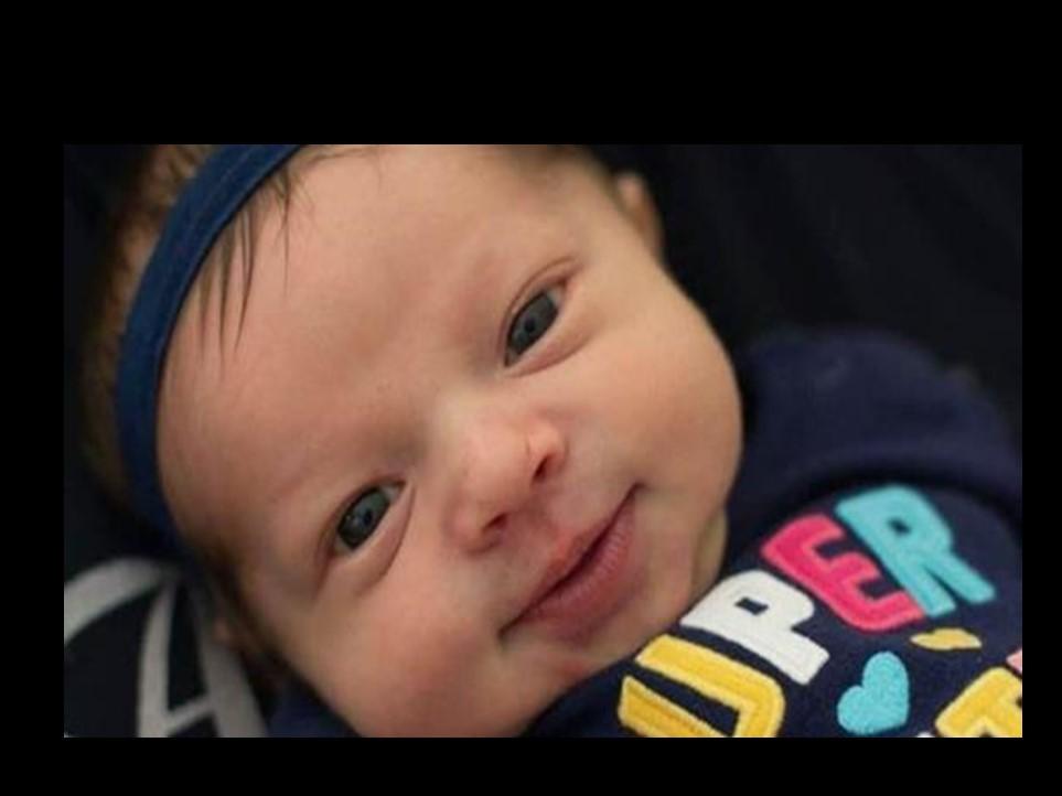 Pai alerta após perder sua bebê porque uma visita não lavou as mãos