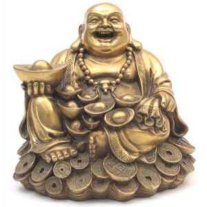 Use o Buda sorridente para alcançar riqueza e prosperidade.