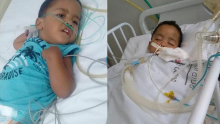 Criança engasga com maçã e tem paralisia cerebral; mãe faz desabafo emocionante