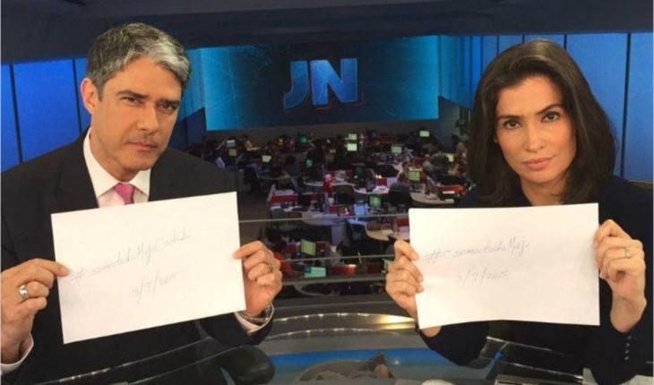 Globo tira William Bonner e Renata da bancada do Jornal Nacional e prepara grande novidade