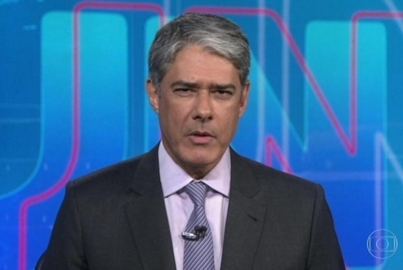 William Bonner foi de férias do Jornal Nacional