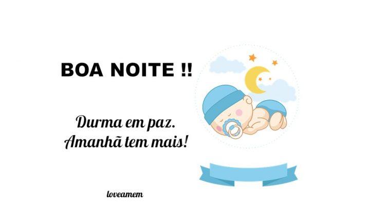 Boa Noite ! Durma em paz.  Amanhã tem mais!