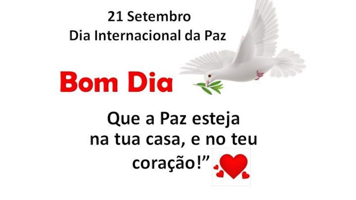 21 Setembro – Dia Internacional da Paz