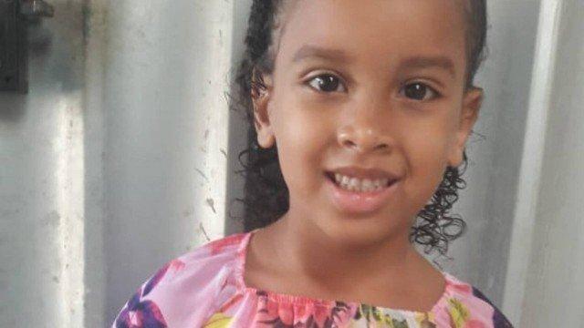 CRIME: Corpo de menina de 6 anos que desapareceu após sair com o tio é encontrado
